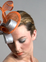 Headpiece 'Orange with a Twist'